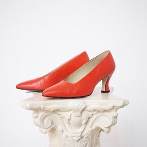 Vintage Nine West Coral Pumps